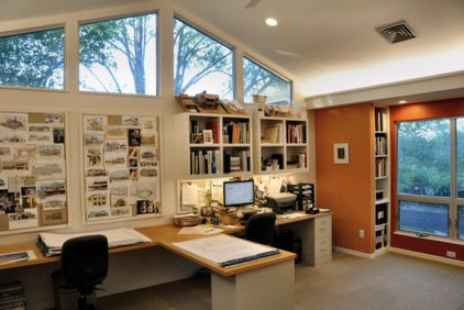 Contemporary Home Office by Paul DeGroot