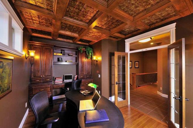Traditional Home Office by Design Evolution Enterprises Inc