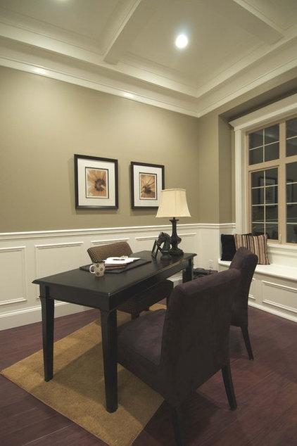 Traditional Home Office by Sonbuilt Custom Homes Ltd.
