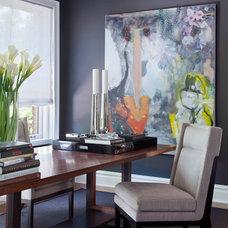Contemporary Home Office by D&D Interiors / Mikhail Dantes