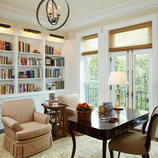 Traditional Home Office by Burns and Beyerl Architects