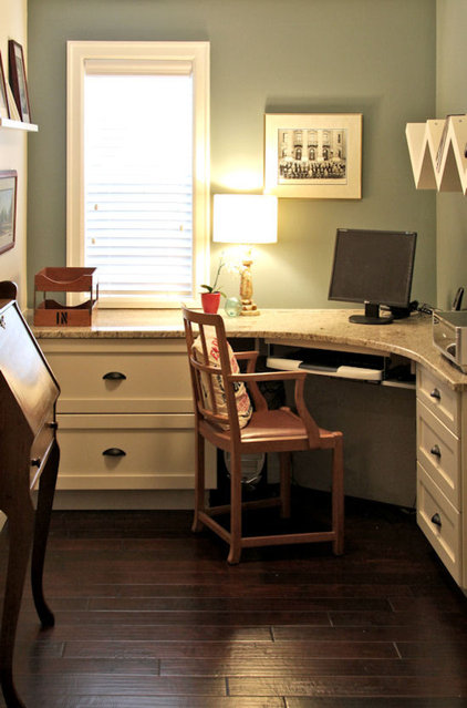 Traditional Home Office by Capstone Dwellings, Design-Build