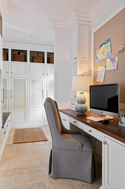 Traditional Home Office by dustin.peck.photography.inc