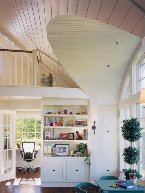 Farmhouse Home Office Idea In Burlington