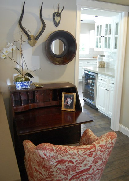 Transitional Home Office by Dana Nichols