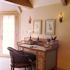 Traditional Home Office by Adeeni Design Group