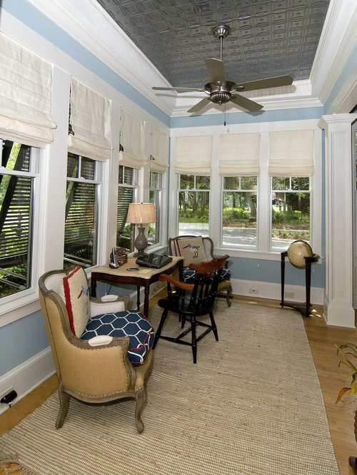 Beach style wilmington home office design ideas remodels for Coastal home office