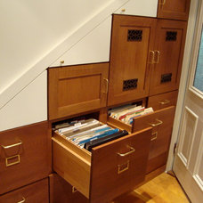 Traditional Home Office by Gilmans Kitchens and Baths