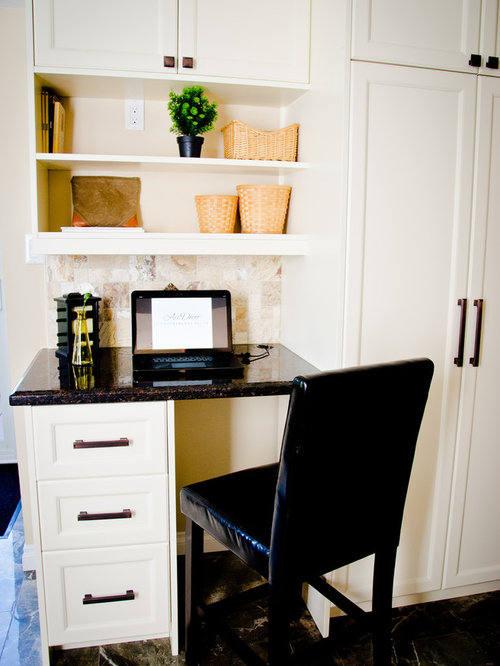 Craftsman White Home Office Design Ideas Remodels amp Photos