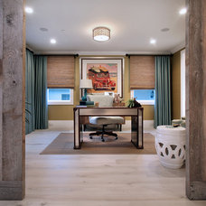 Traditional Home Office by Brandon Architects, Inc.