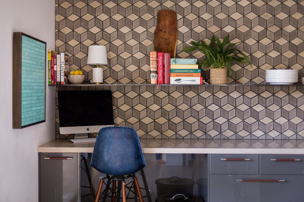 Midcentury Home Office by ARTO