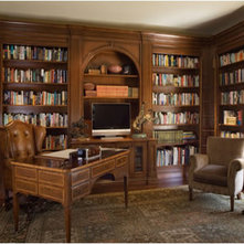 Traditional Home Office by Einstein Design Group