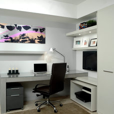 Modern Home Office by Troy Dean Interiors