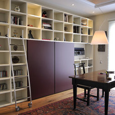 Contemporary Home Office by HABITALY by marcopolo