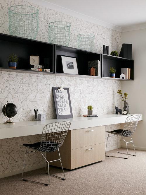 Contemporary Home Office Design Ideas Renovations Photos