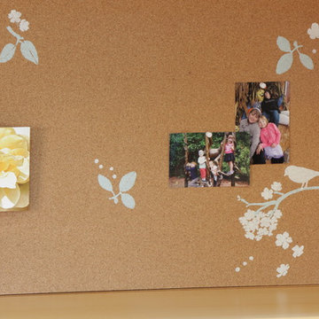 DIY Cork Board For Home Office