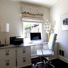 Contemporary Home Office by DJD Design
