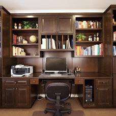 Traditional Home Office by Dodges Classic Carpentry Co