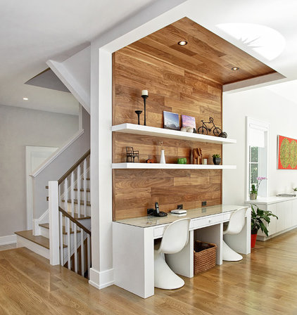 Contemporary Home Office by Vita Design Group