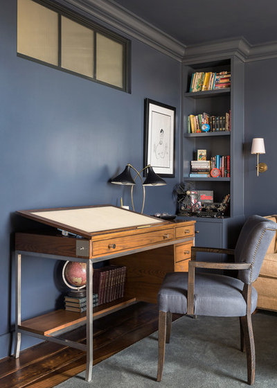 Transitional Home Office by Tim Barber Ltd Architecture