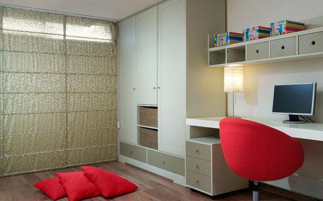 Modern Home Office by Dorit Sela