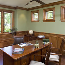 Craftsman Home Office by SWA Architects