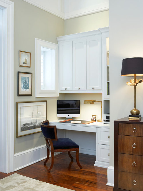 30 All-Time Favorite Small Traditional Home Office Ideas | Houzz