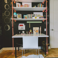 Eclectic Home Office by Homepolish