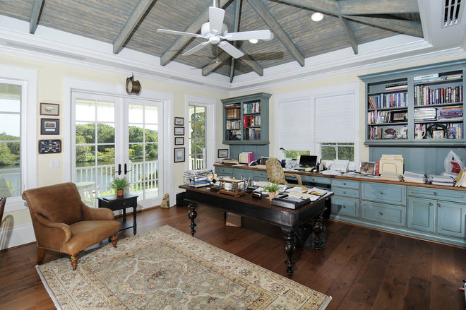 Traditional Home Office by Design Studio by Raymond