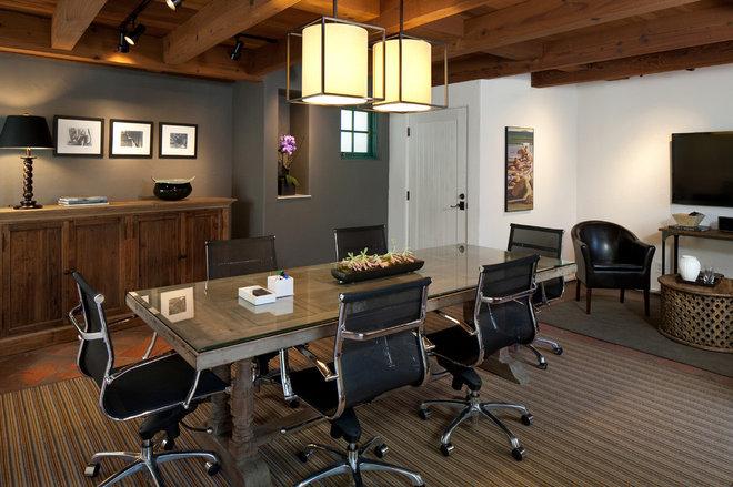 Modern Home Office by Jessica Risko Smith Interior Design