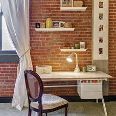 Contemporary Home Office by S&K Interiors