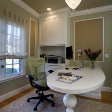 Contemporary Home Office by Doyle McCullar Fine Interiors