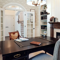 traditional home office by Dream House Studios