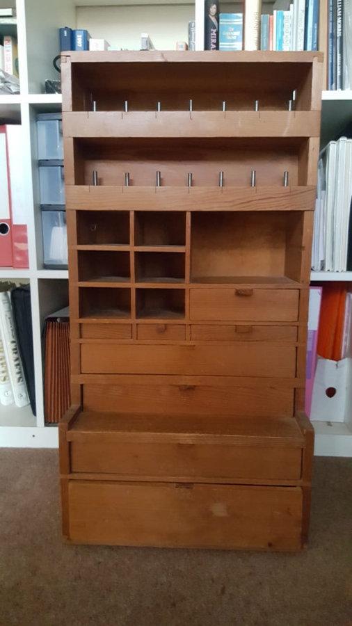 Dressmaking cabinet