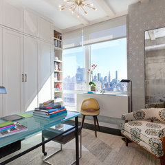 contemporary home office by Drew McGukin Interiors