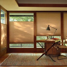 Craftsman Home Office by Premier Window Coverings
