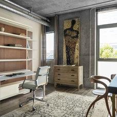 Industrial Home Office by Slesinski Design Group, Inc.