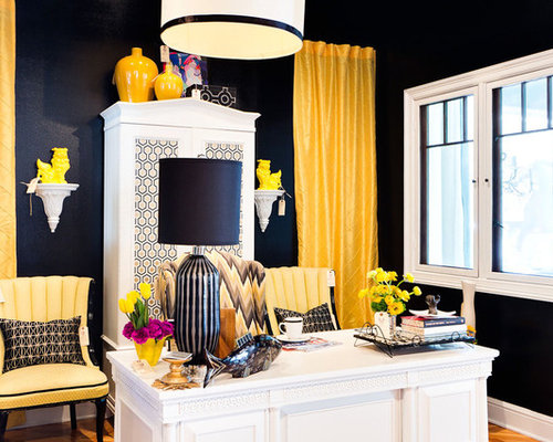 Mustard Yellow Navy Blue Home Design Ideas, Pictures