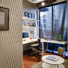 Industrial Home Office by Mark Teskey Architectural Photography