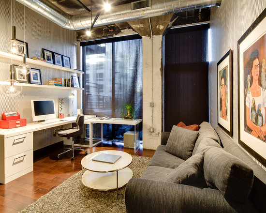 Urban Home Office Industrial Chic