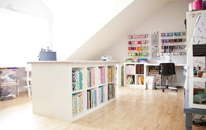 Room of the Day: A Dream Sewing Studio for Creative Crafting