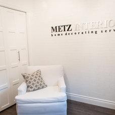 Modern Home Office by Metz Interiors