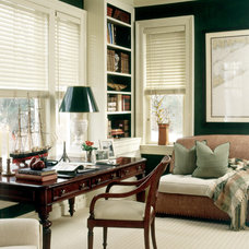 Traditional Home Office by Marshall Watson Interiors