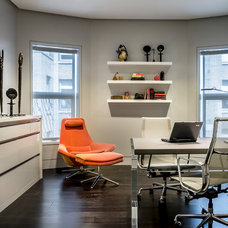 Contemporary Home Office by Kaufman Segal Design