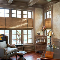 Traditional Home Office by Mia Rao Design