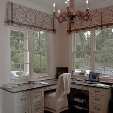Traditional Home Office by Reu Architects