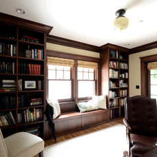 Traditional Home Office by Emerick Architects
