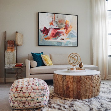 Eclectic Global Home