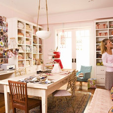 Eclectic Home Office by Annette Tatum