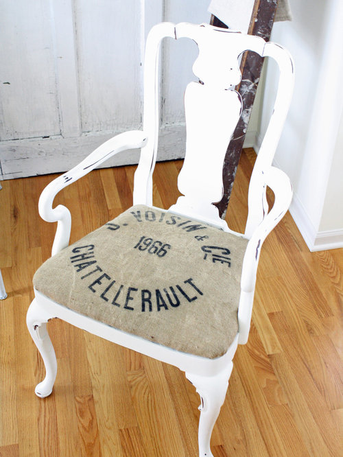 Burlap Upholstered Chairs Ideas Pictures Remodel and Decor